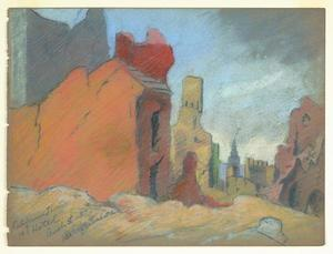 Title: Ruins-California Theatre and Hotel-Bush St. Between Kearny & Grant Ave. , Size: 8 3/4