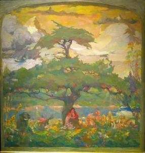 Title: Study for the Tree of Life , Date: c.1936 , Size: 18
